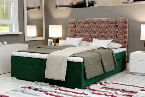 Łóżka z zagłówkiem
