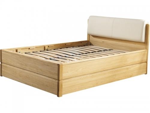 Łóżko ze stelażem